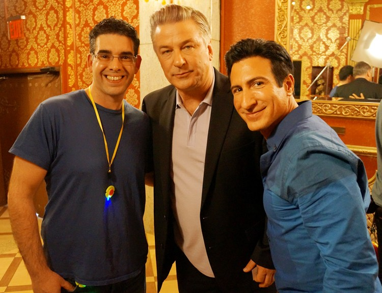Jack, Alec Baldwin and William DeMeo Friendship Lights